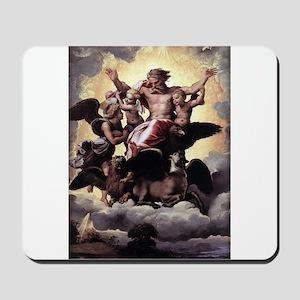 Ezekiel's Vision - Raphael Mousepad