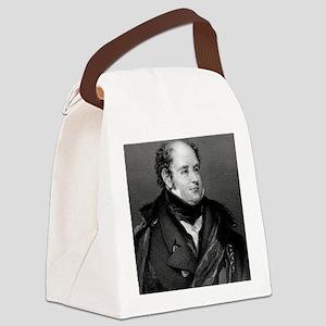 Sir John Franklin, British explor Canvas Lunch Bag