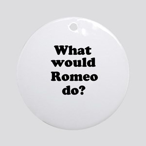 Romeo Ornament (Round)