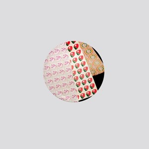 Sheets of LSD (acid) tabs Mini Button