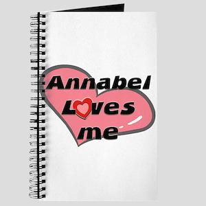 annabel loves me Journal