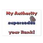 Navy Wife Authority Postcards (Package of 8)