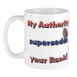 Navy Wife Authority Mug