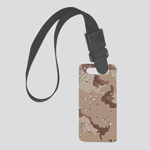 Desert Camouflage Small Luggage Tag