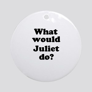 Juliet Ornament (Round)