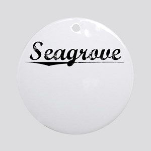 Seagrove, Vintage Round Ornament