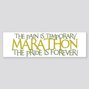 Marathon- The Pride is Forever Bumper Sticker