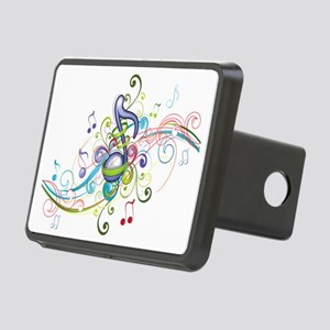 Music in the air Rectangular Hitch Cover