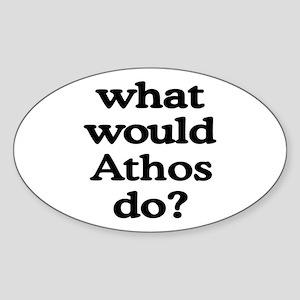 Athos Oval Sticker