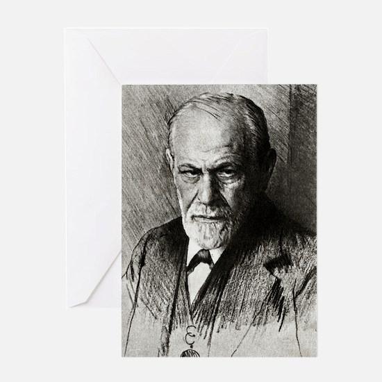 Sigmund freud gifts merchandise sigmund freud gift ideas sigmund freud austrian psychologist greeting card bookmarktalkfo Images
