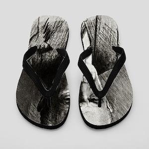 Sigmund Freud, Austrian psychologist Flip Flops