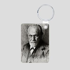 Sigmund Freud, Austrian ps Aluminum Photo Keychain