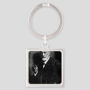 Sigmund Freud, Austrian psychologi Square Keychain