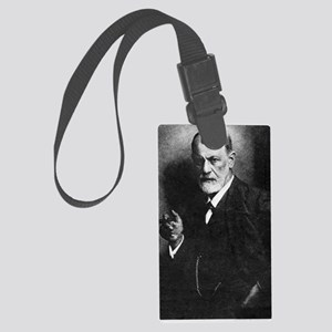 Sigmund Freud, Austrian psycholo Large Luggage Tag