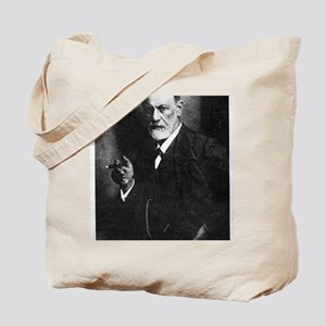 Sigmund Freud, Austrian psychologist Tote Bag