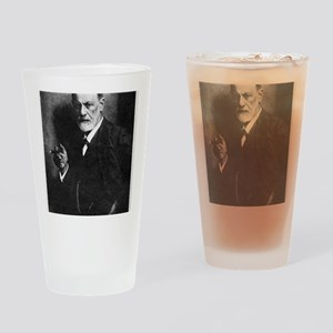 Sigmund Freud, Austrian psychologis Drinking Glass
