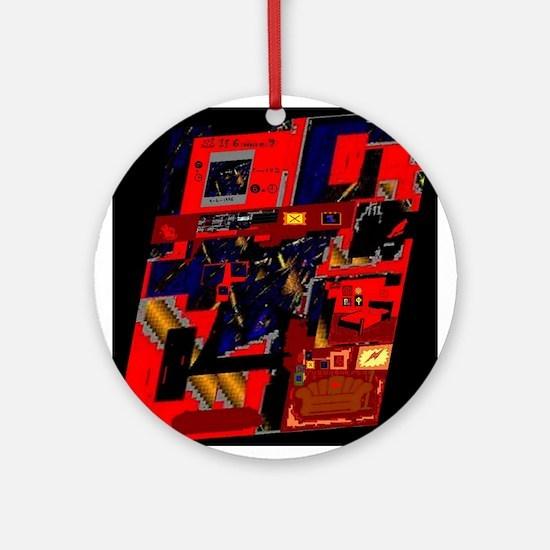 If 6 were 9 by Brett Fletcher Ornament (Round)