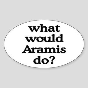 Aramis Oval Sticker