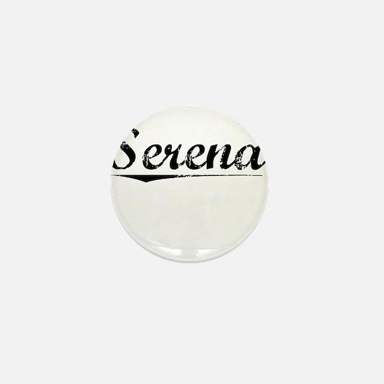 Serena, Vintage Mini Button