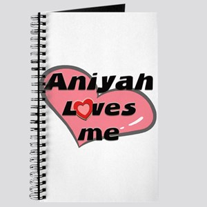 aniyah loves me Journal