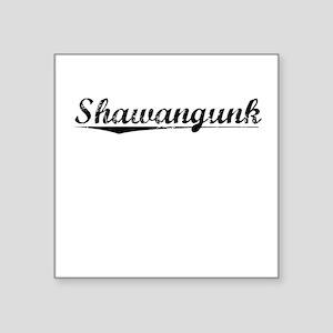 "Shawangunk, Vintage Square Sticker 3"" x 3"""