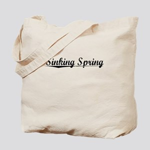Sinking Spring, Vintage Tote Bag