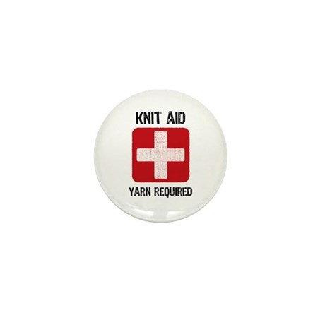 Knit Aid Mini Button