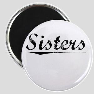 Sisters, Vintage Magnet