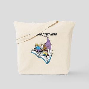 Custom Magical Book Tote Bag