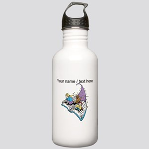 Custom Magical Book Water Bottle