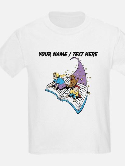 Custom Magical Book T-Shirt