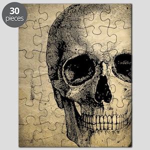 Vintage Skull Puzzle
