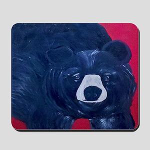 Black Bear Art Mousepad