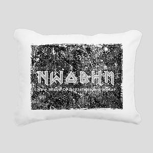 Eternal Edge-New Wave Of Rectangular Canvas Pillow