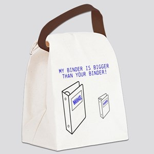 Mine is Bigger Than Yours! Canvas Lunch Bag