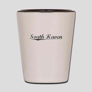 South Haven, Vintage Shot Glass