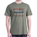 Air Force Wife Authority Dark T-Shirt