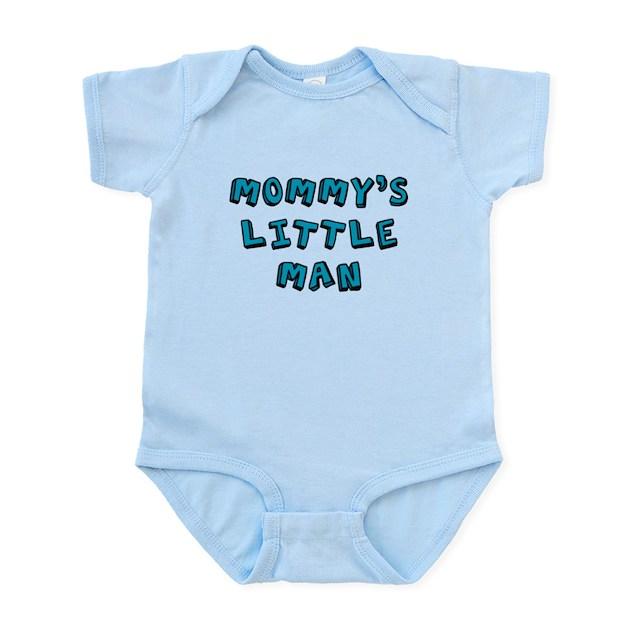 4483725e05ae Mommy s little man baby onesie Baby Light Bodysuit