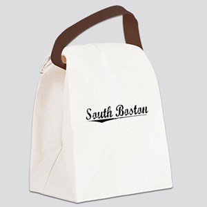 South Boston, Vintage Canvas Lunch Bag