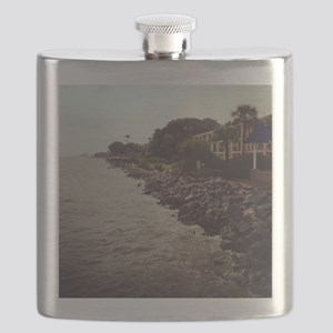 Rocky Shore Flask
