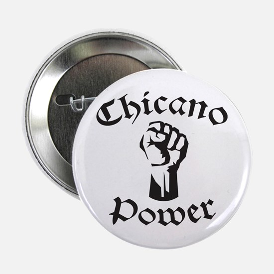 "Chicano Power 2.25"" Button"