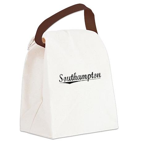Southampton, Vintage Canvas Lunch Bag