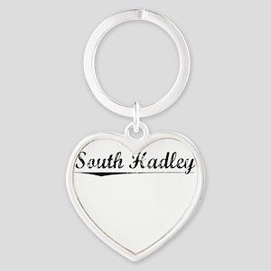 South Hadley, Vintage Heart Keychain