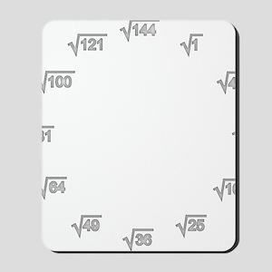 Square Root Wallclock Mousepad
