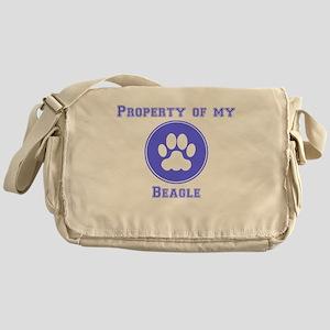Property Of My Beagle Messenger Bag