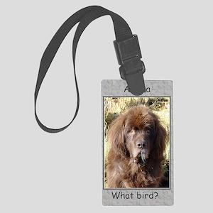 What bird Newfy Large Luggage Tag