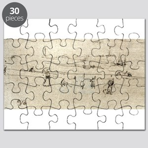 A sketch at Dieppe - Whistler - c1880 Puzzle