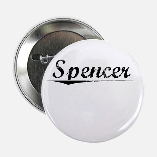 """Spencer, Vintage 2.25"""" Button"""