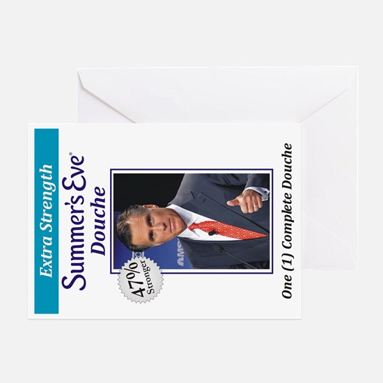 Mitt Douche Greeting Card