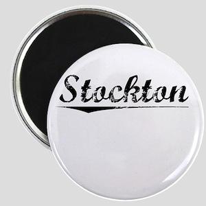 Stockton, Vintage Magnet